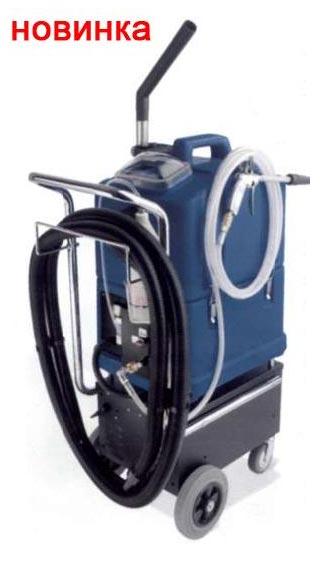 Многофункциональный аппарат влажной уборки Powertec Battery